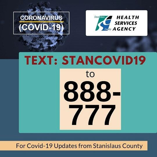 Covid19 Text Number