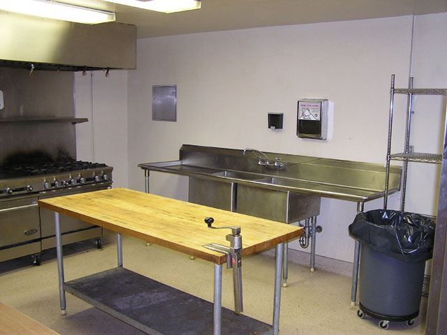 American Legion Hall Kitchen