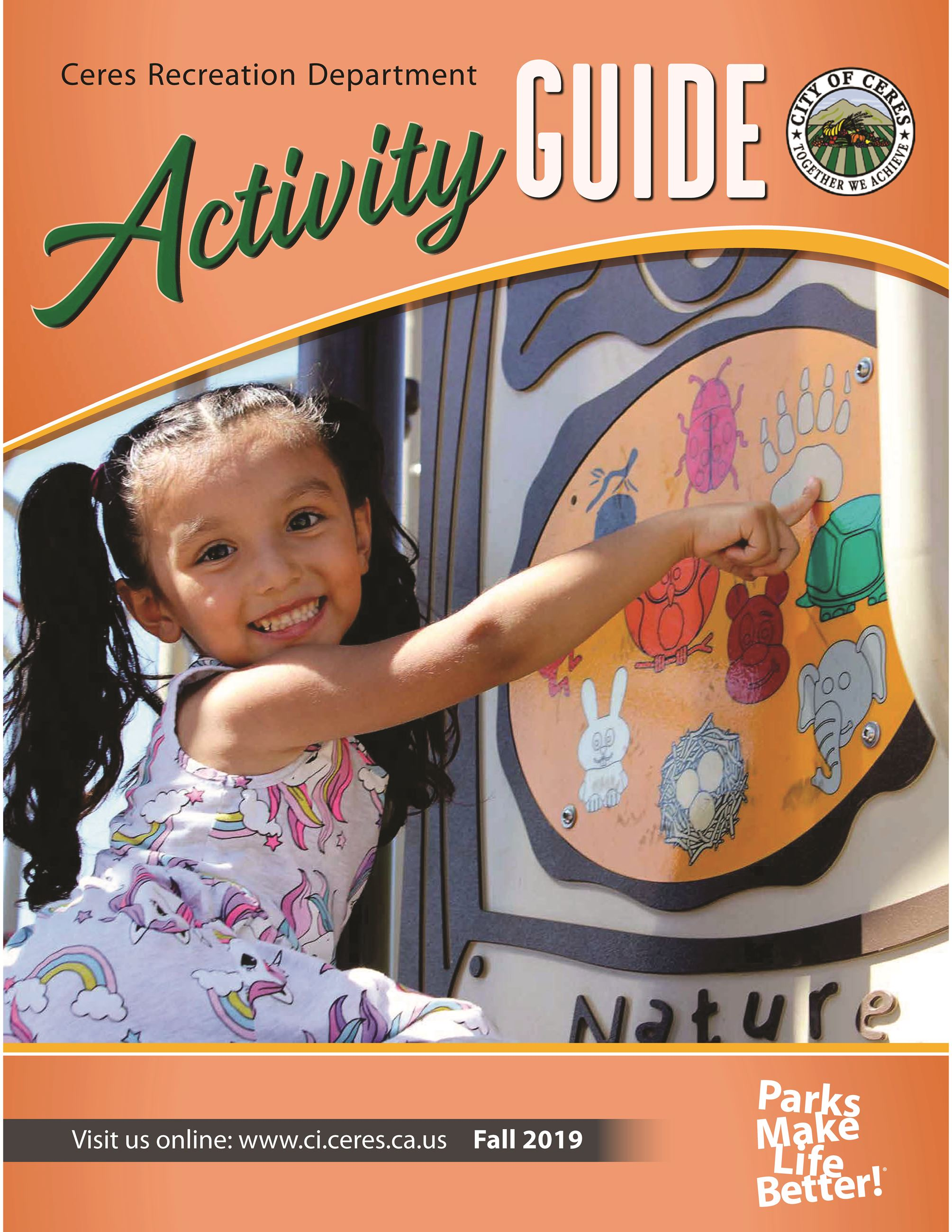 Fall 2019 Activity Guide - Cover Photo Opens in new window