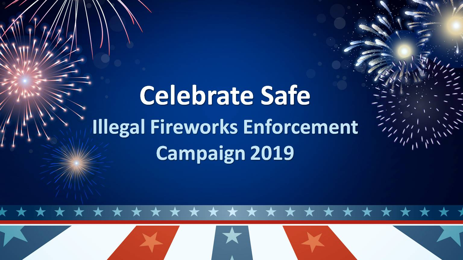Illegal Fireworks Enforcement Photo